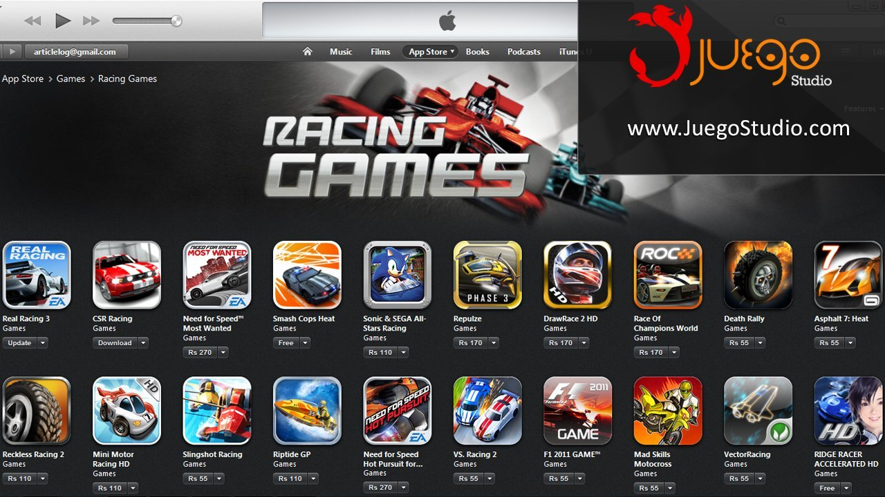 Racing Games - Juego Studio