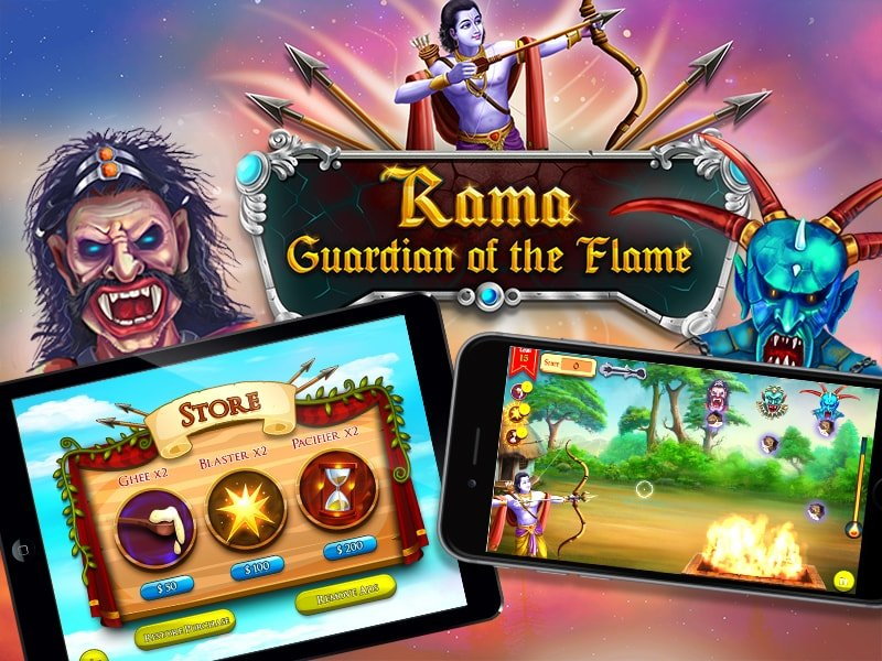 Rama Guardian of the Flame - Developed by Juego Studios, Outsource Game Development in india