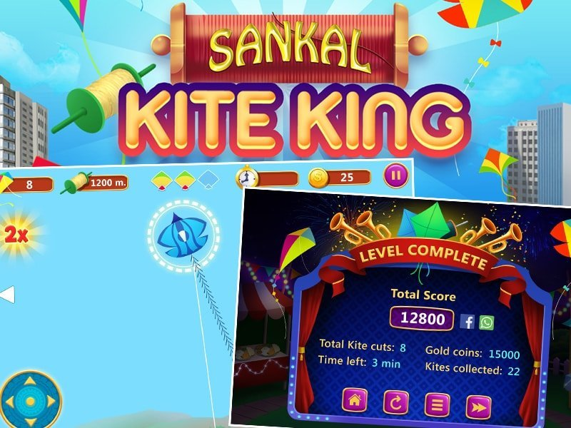 Sankal Kite King - Outsource Game Development by Juego Studios