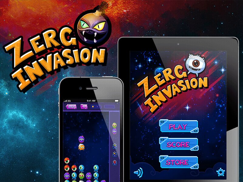 Zerg-Invasion Game Developed by Juego Studios, Mobile Game Development