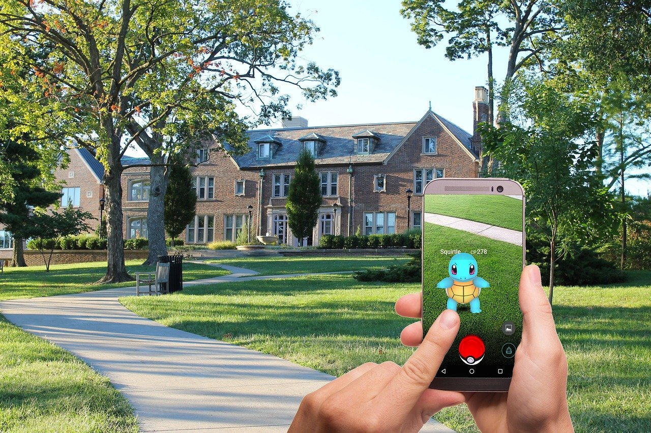 AR Pokemon Game