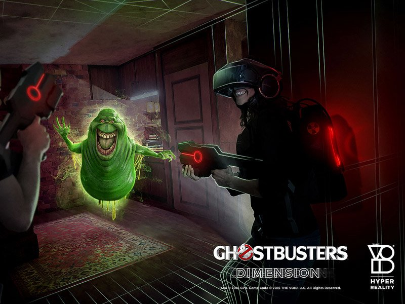 ghostbusters dimension hyper reality experiences