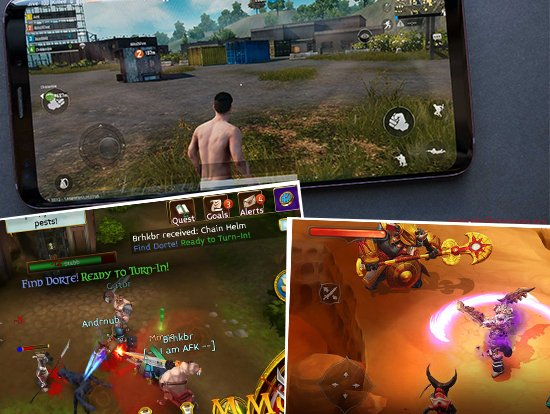 MMO Mobile games