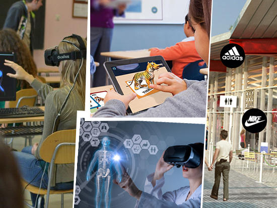 Augmented reality and virtual reality will reshape the different industries