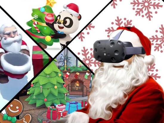 AR Apps and Games for Christmas