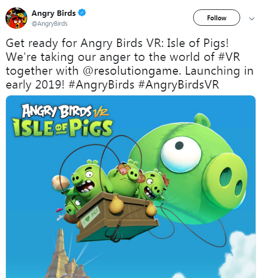 angry bird release