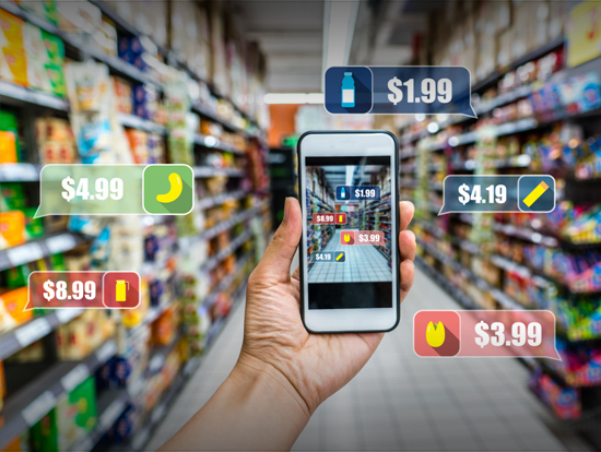 Augmented Reality Shopping Transformation