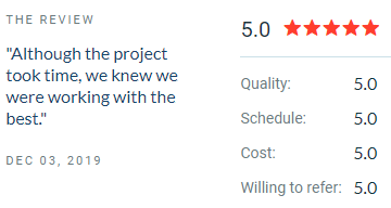 VR Dev for construction co reviewed on clutch